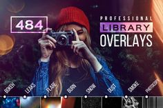 BUNDLE Library Overlays PRO 60%-off by Creative Stuff on Creative Market