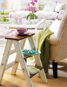 Decorado en verde y lila - Salon comedor - Decoracion interiores - Interiores, Ambientes, Baños, Cocinas, Dormitorios y habitaciones - CASADIEZ.ES