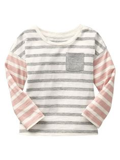 Colorblock stripe tee Product Image