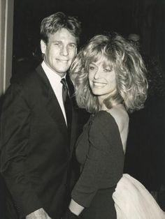 Ryan O'Neal and Farah Fawcett in 1987. Image: Courtesy of RyanONeal.com