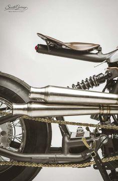 "Harley-Davidson Bobber ""Opera"" by South Garage Motor Co  #motorcycles #bobber #motos | caferacerpasion.com"
