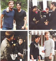 damon and alaric day 4 photo challenge - fave friendship