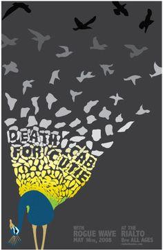 DEATH CAB FOR CUTIE  Concert Poster