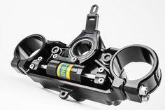 Triple clamp Concept Motorcycles, Custom Motorcycles, Custom Bikes, Motorcycle Equipment, Motorcycle Gear, Motorcycle Design, Bike Design, Cafe Racer Parts, Cx 500