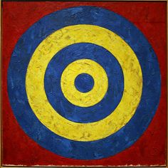 Target by Jasper Johns by cliff1066™, via Flickr