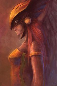 Hawkgirl  by ~zgul-osr1113