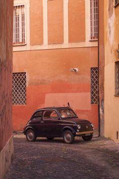 Pace e ... Fiat 500! (By massimolanzi on Tumblr) http://ift.tt/1lxIEna