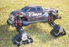 How to build caterpillar tracks for your RC car. #rccars #pinterest