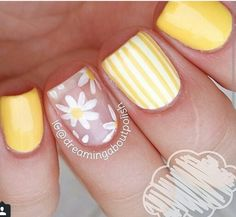23 Large Yellow Nail Art Designs 2019 Source by Fancy Nails, Diy Nails, Cute Nails, Pretty Nails, Yellow Nails Design, Yellow Nail Art, Acrylic Nail Designs, Nail Art Designs, Acrylic Nails