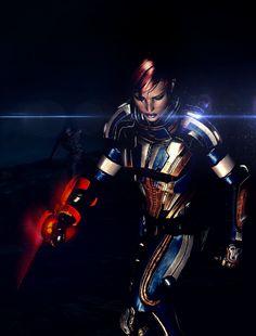 Commander Shepard tribute VI by on DeviantArt Mass Effect 1, Mass Effect Universe, Mass Effect Characters, Vampire Masquerade, Comic Character, Character Reference, Commander Shepard, Meta Knight, Samus Aran