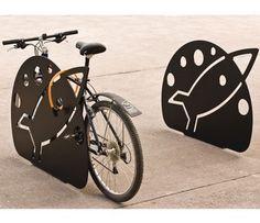 Rocket Bike Rack. Visit the slowottawa.ca boards >> http://www.pinterest.com/slowottawa/