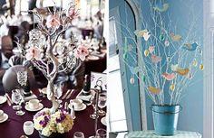 Veja ideias super criativas que usam galhos secos para decorar casas ou festas…