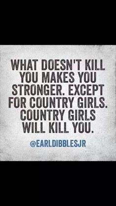 Country Girls!