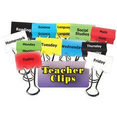 CLASSES & DAYS OF WEEK TEACHER