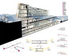 Şişli High School Competition Entry by cem kaptan architecture