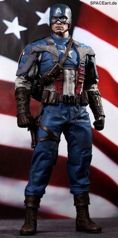 Captain America: Captain America - Deluxe Figur
