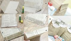 Best Out Of Waste | 7 DIY ideas for Newspaper recycling | http://bestoutofwaste.org