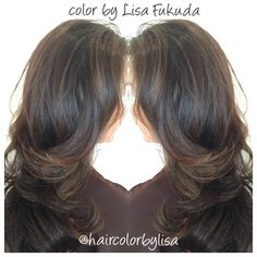 Balayage Brunette Blonde Highlights Glaze Olaplex Haircolor By LisaFukuda&CocoAlexander Haircut&Style Sebastian  @josephCozzaSalon 77 maiden lane sf ca 4154333030 @haircolorbylisa