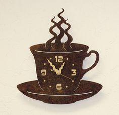 Coffee Mug Clock