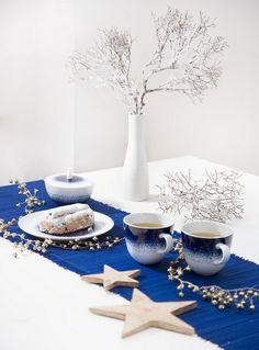 Maine Mug en porcelaine Maine, Blue Hour, Habitats, Tea Time, Comme, Table Decorations, Mugs, Home Decor, Blue Patterns