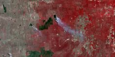 Wildfires in Argentine Consume the Rural Landscape Constellations, Landscape, Painting, Image, Art, Argentina, Art Background, Scenery, Painting Art
