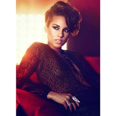 alicia keys ❤ liked on Polyvore featuring people