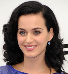 """Katy Perry at the """"Smurfs 2"""" premiere. Hair by Jen Atkin."""
