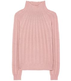 "Bottega Veneta - Cashmere turtleneck sweater - Bottega Veneta's cosy sweater has been knitted in Italy from pure cashmere. In a demure hue the brand calls ""desert rose"", this piece is fine enough to wear when weather is mild and also makes a great layering piece for the winter months. We're wearing ours right now with a knee-length skirt and sandals. seen @ www.mytheresa.com"