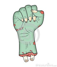 Zombie Hand, Fist Gesture Halloween Vector - Realistic Cartoon Isolated Illustration. Image Of Scary Monster Fist Gesture - Download From Over 36 Million High Quality Stock Photos, Images, Vectors. Sign up for FREE today. Image: 60732032