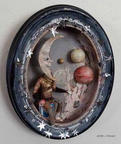 The Moon, small by bugatha1