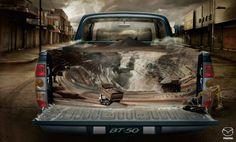 Mazda BT-50: Mine | Ads of the World™