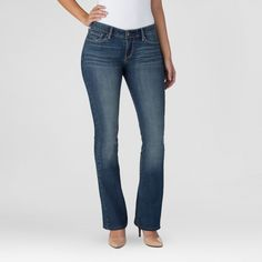 Denizen from Levi's Women's Modern Boot Cut Jeans Celestial 18 Short