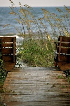Doorloopje naar de zee....