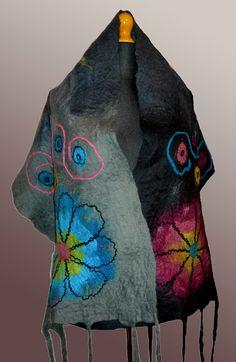 Farb-und Stilberatung mit www.farben-reich.com - Nuno felt - nunofilc - Xochimilco | Anusine Szmatki