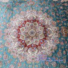 silk carpet medallion