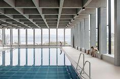 Baden im Berg - Schwimmbad in Erlenbach bei Zürich
