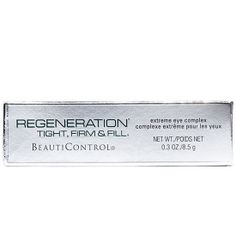 Best New Eye Cream (Over $40) - Regeneration Tight, Firm & Fill Extreme Eye Complex #BeautiControl