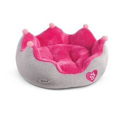American Girl Pet Crown Pet Bed for Doll Pets Truly Me 2017 * Check out the image by visiting the link. (This is an affiliate link) Cosas American Girl, American Girl Doll Pets, American Girl Furniture, Accessoires Barbie, Girls Crown, Baby Doll Accessories, Our Generation Dolls, Mini Things, Lol Dolls