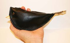 Blackbird Purse Leather by FayesAviary on Etsy
