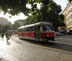 NEW blog post! Prague locals know that Tram 22 is not just any old tram... it's THE most scenic route to see Prague's famous places and local neighborhoods... DIY Prague: Tour the city by Tram 22 - Travel Tips