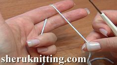 CROCHET BASICS Tutorial 2. http://sheruknitting.com/videos-about-knitting/crochet-for-beginners/item/175-crochet-basics.html Learn to Crochet! One of the first steps to begin crochet is to learn how to hold the yarn. This step-by-step tutorial will show you one of the way how to hold the yarn or thread to get started on your project. Also you will get to know who to control the tension of the yarn.
