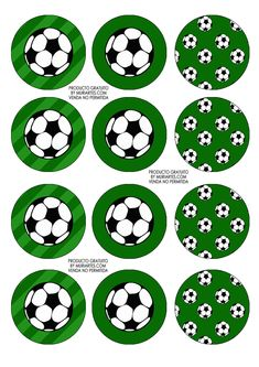 Imprimibles Futbol - www.susaneda.com Baseball Party, Soccer Party, Sports Party, Soccer Cupcakes, Soccer Ball Cake, Soccer Banquet, Soccer Theme, Soccer Decor, Soccer Birthday Parties