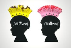 Funky Cycle Helmets for Kids, the Fohawx