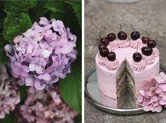 Děvče u plotny - Třešňový dort