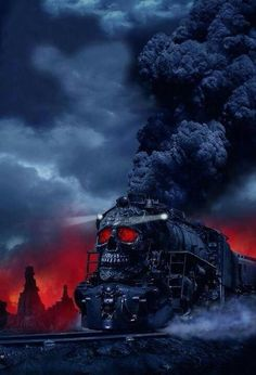 Awesome!!! SKULL~TRAIN