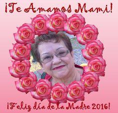 Mi madre hermosa, te amo! Dios y la Virgen te cuidan y bendicen!