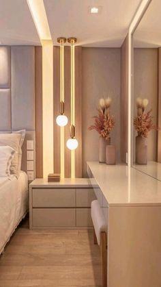 Modern Luxury Bedroom, Luxury Bedroom Design, Room Design Bedroom, Bedroom Furniture Design, Stylish Bedroom, Luxurious Bedrooms, Home Bedroom, Simple Bedroom Design, Home Design Decor