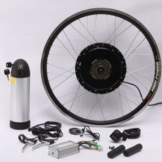 36V 500W Electric Bike Bicycle Motor Conversion Kit with 36V11AH Li on Battery | eBay