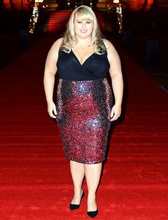 Rebel Wilson rocked it in a bedazzled dress -- you'll never guess how much it costs!