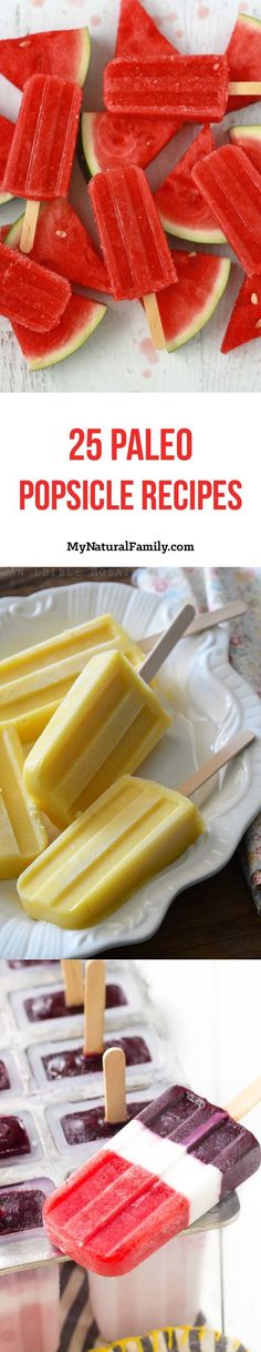 I love all the choices of Paleo popsicle recipes on this list. I love how easy popsicles are to make. Most of the time all I do for popsicles is use leftover smoothie but these look really fun.